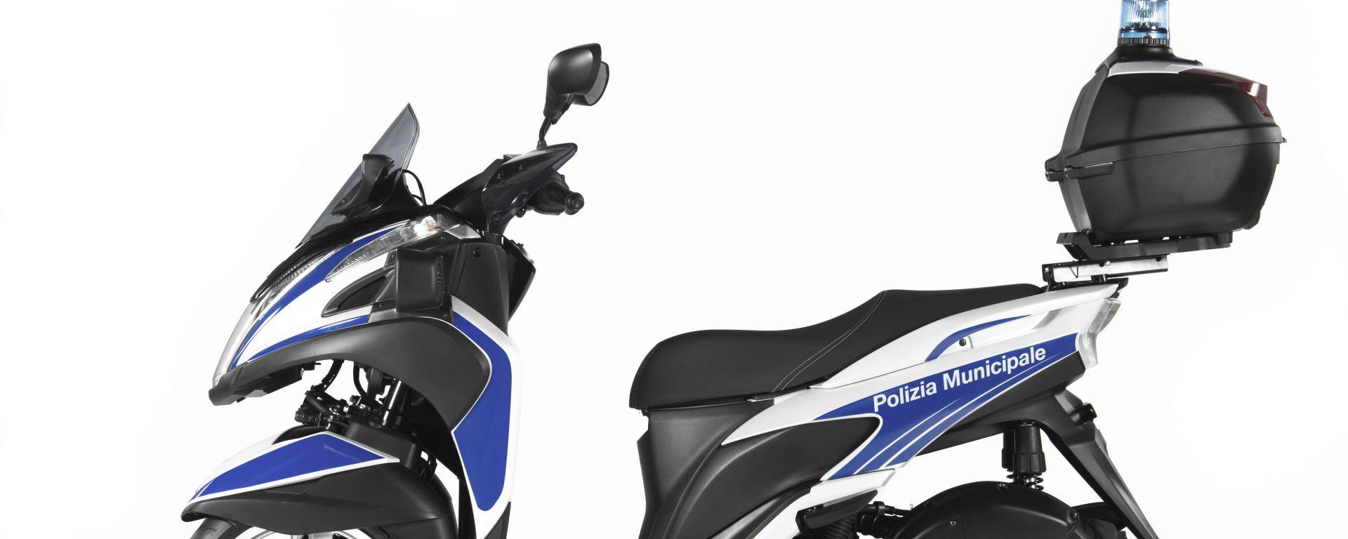 Yamaha Tricity 125 Police, il tre ruote per la Polizia