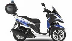 Yamaha Tricity 125 Police, il tre ruote per Polizia e Vigili