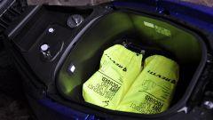 Yamaha Tricity 155, il vano sottosella è molto capiente