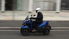 Yamaha Tricity 155, in città è agile e sicuro