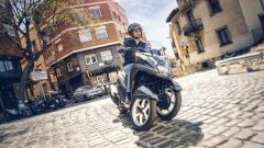 Yamaha Tricity 155: finalmente mette le ruote in autostrada - Immagine: 2