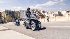 Yamaha Tricity 155: finalmente mette le ruote in autostrada - Immagine: 3