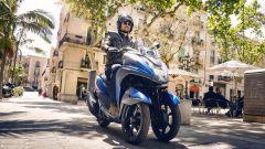 Yamaha Tricity 155: finalmente mette le ruote in autostrada - Immagine: 5
