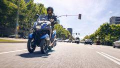 Yamaha Tricity 155: finalmente mette le ruote in autostrada - Immagine: 8