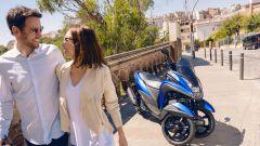 Yamaha Tricity 155: finalmente mette le ruote in autostrada - Immagine: 10