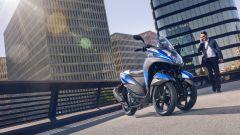 Yamaha Tricity 155: finalmente mette le ruote in autostrada - Immagine: 11