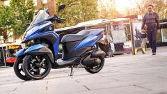 Yamaha Tricity 155: finalmente mette le ruote in autostrada - Immagine: 1