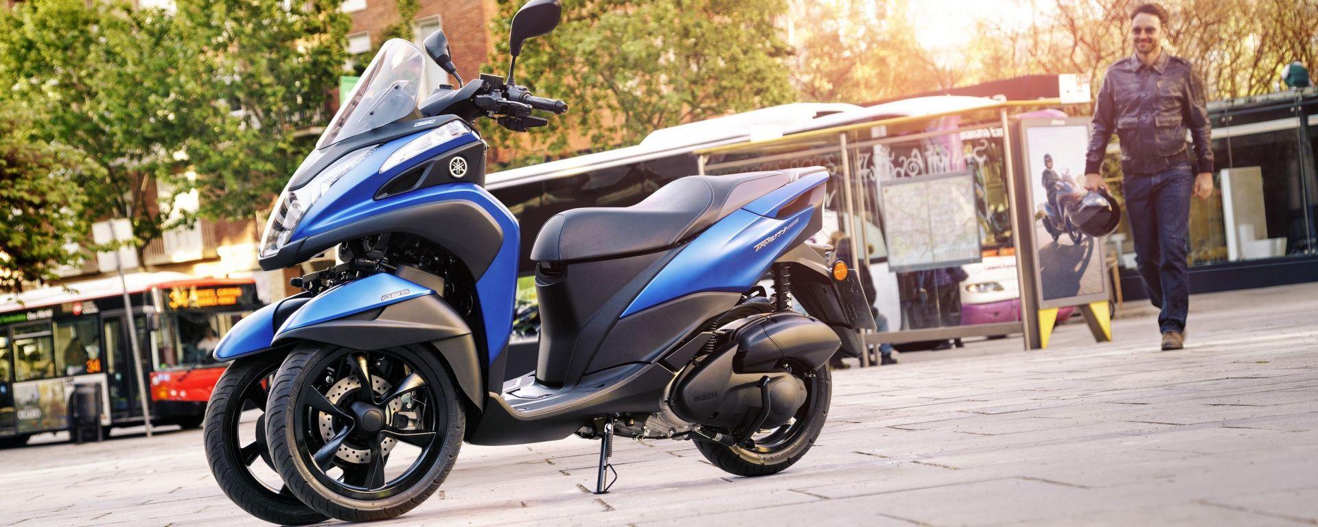 Yamaha Tricity 155: finalmente mette le ruote in autostrada