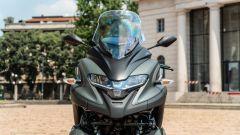 Yamaha Tricity 300, dettaglio del cupolino