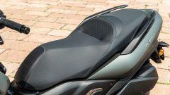 Yamaha Tricity 300, la sella