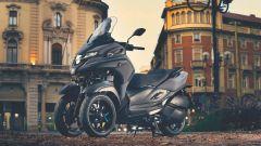Yamaha Tricity 300, le foto ufficiali sono scattate in Italia