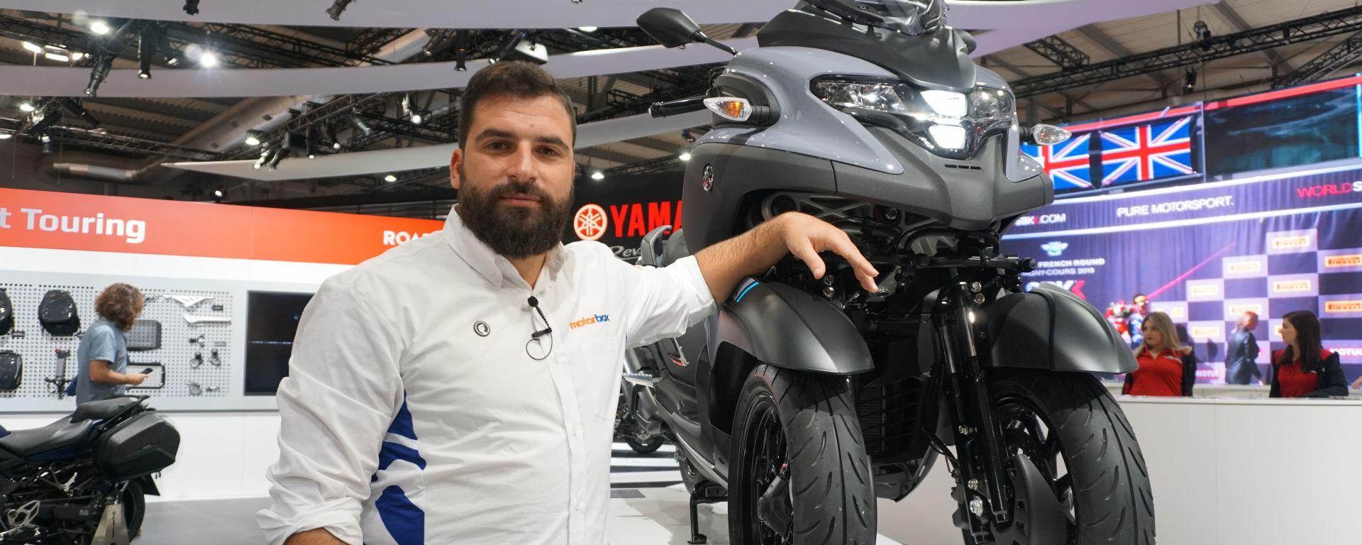 Yamaha Tricity 300 lancia la sfida a Piaggio MP3?