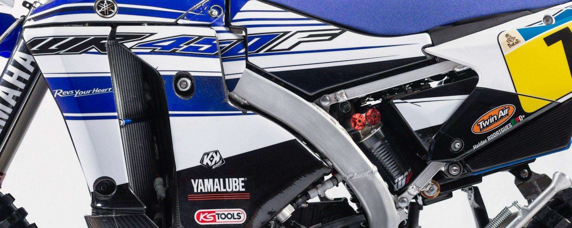 Yamaha WR450F Rally Dakar
