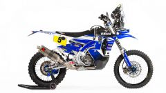 Yamaha WR450F Rally: vista laterale