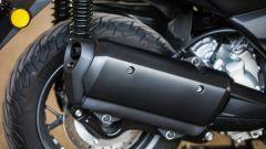 Yamaha X-Max 300: dettaglio dello scarico