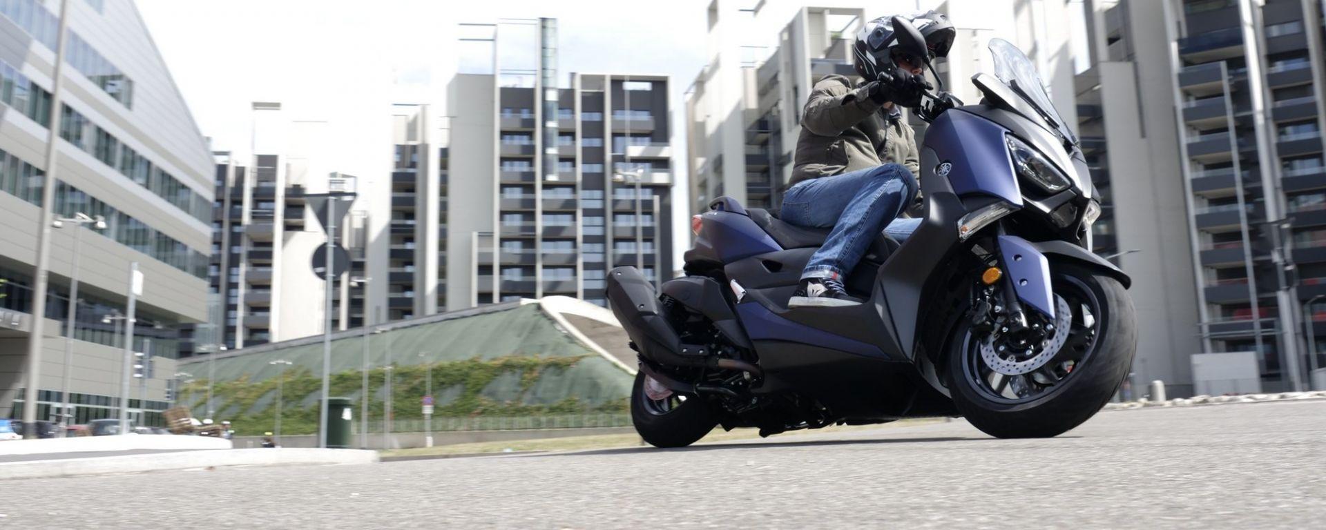 Yamaha X-Max 400: la prova del nuovo maxiscooter premium