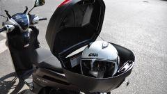 Yamaha Xenter 150, bauletto