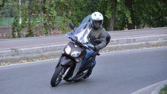 Yamaha Xenter 150, il muso