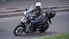 Yamaha Xenter 150 in piega