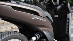 Yamaha Xenter 150, monoammortizzatore