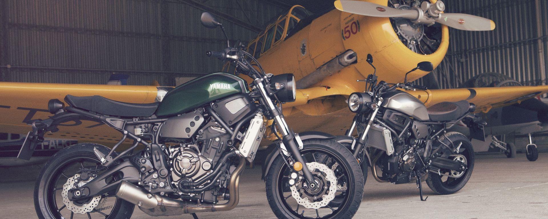Yamaha XSR700 2016