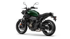 Yamaha XSR700 2017, Forrest Green