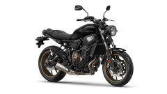 Yamaha XSR700 2017, tech black