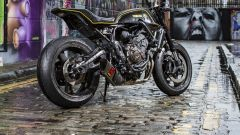 Yamaha XSR700 Corsa Scorcher, special by Rough Crafts