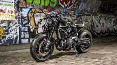 Yamaha XSR700 Corsa Scorcher, special café racer