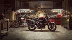 Yamaha XSR700 e XSR900 MY 2018, in garage