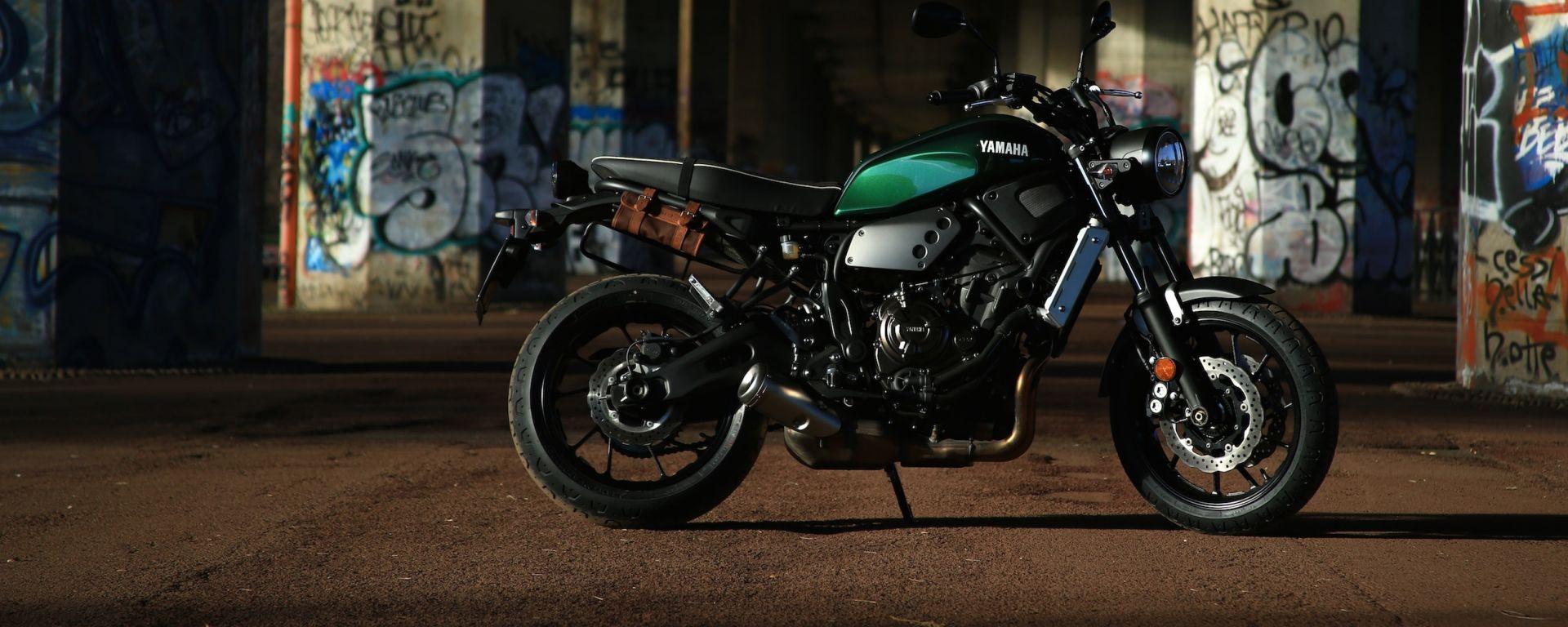 Yamaha XSR700: giorno 3