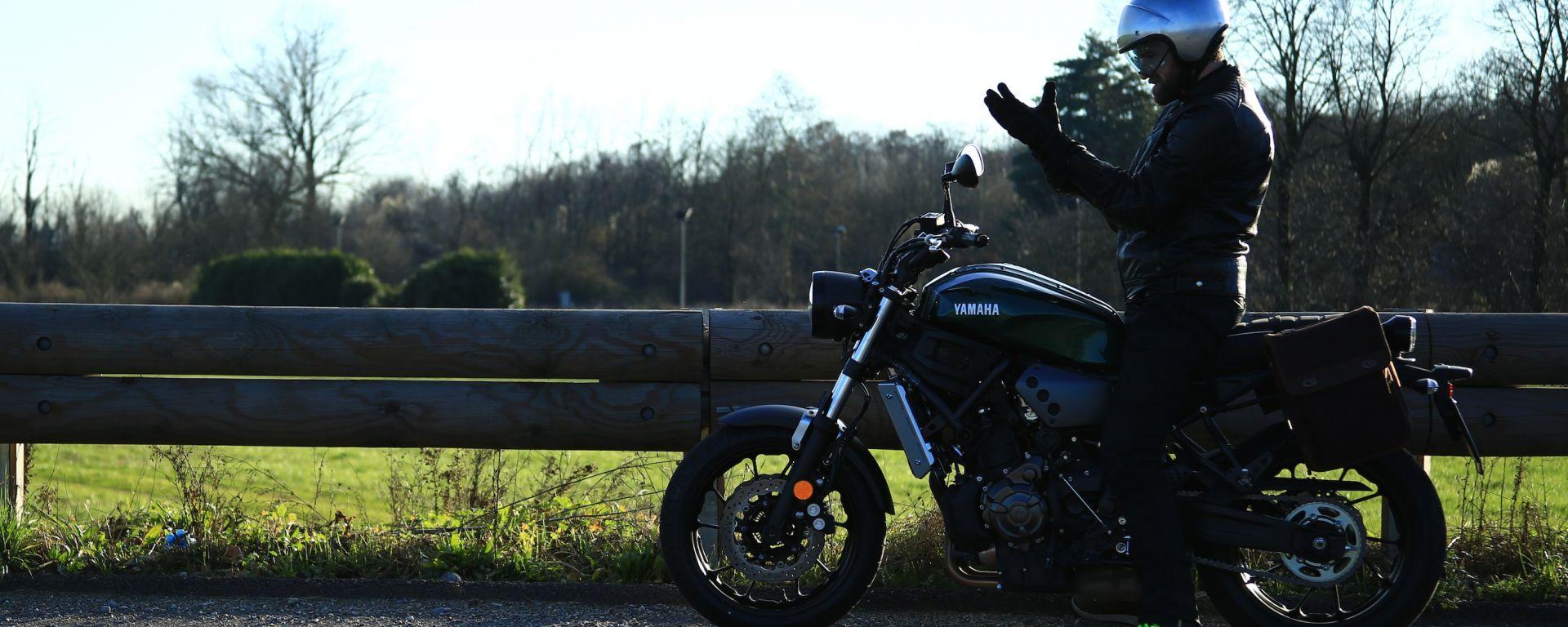 Yamaha XSR700: giorno 4