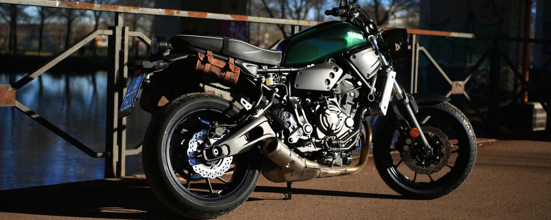 Yamaha XSR700: giorno 5