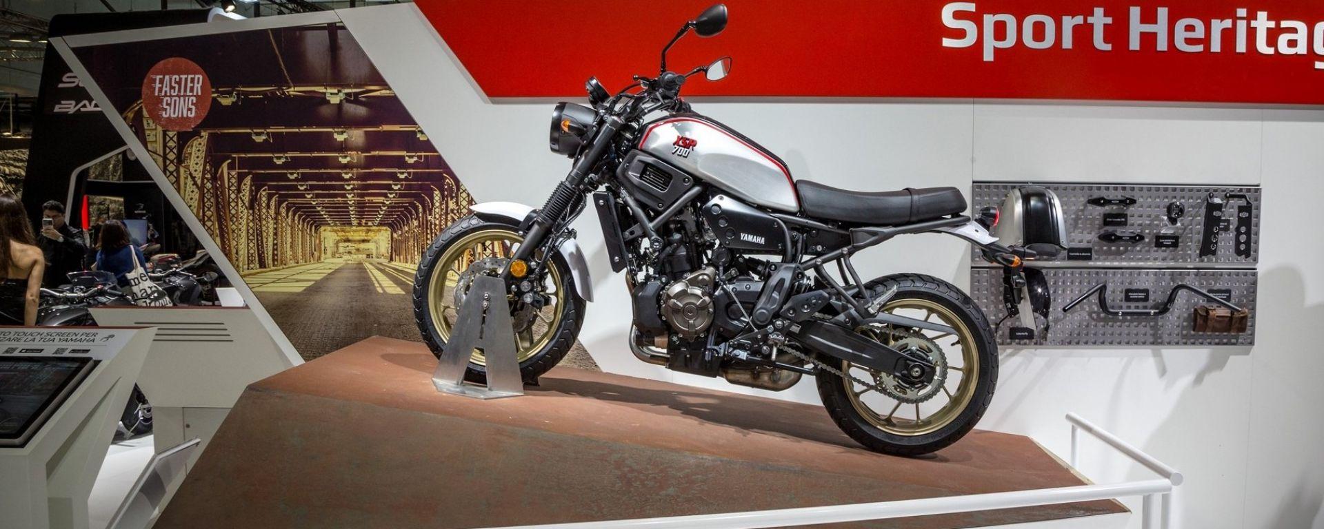 Yamaha XSR700 XTribute a Eicma 2018