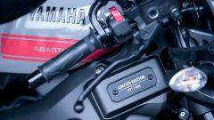 Yamaha XSR900 Abarth: dettaglio della targhetta identificativa della serie limitata