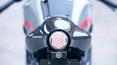 Yamaha XSR900 Abarth: il fanale posteriore a led