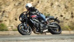 Yamaha XSR900 Abarth: il motore a 3 cilindri di 847 cc è davvero pieno ai regimi bassi e medi