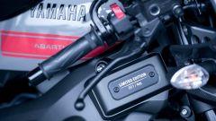 Yamaha XSR900 Abarth: la targhetta che identifica l'esemplare in serie limitata