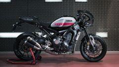 Yamaha XSR900 Abarth: lato destro