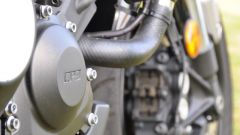 Yamaha XSR900, motore tre cilindri