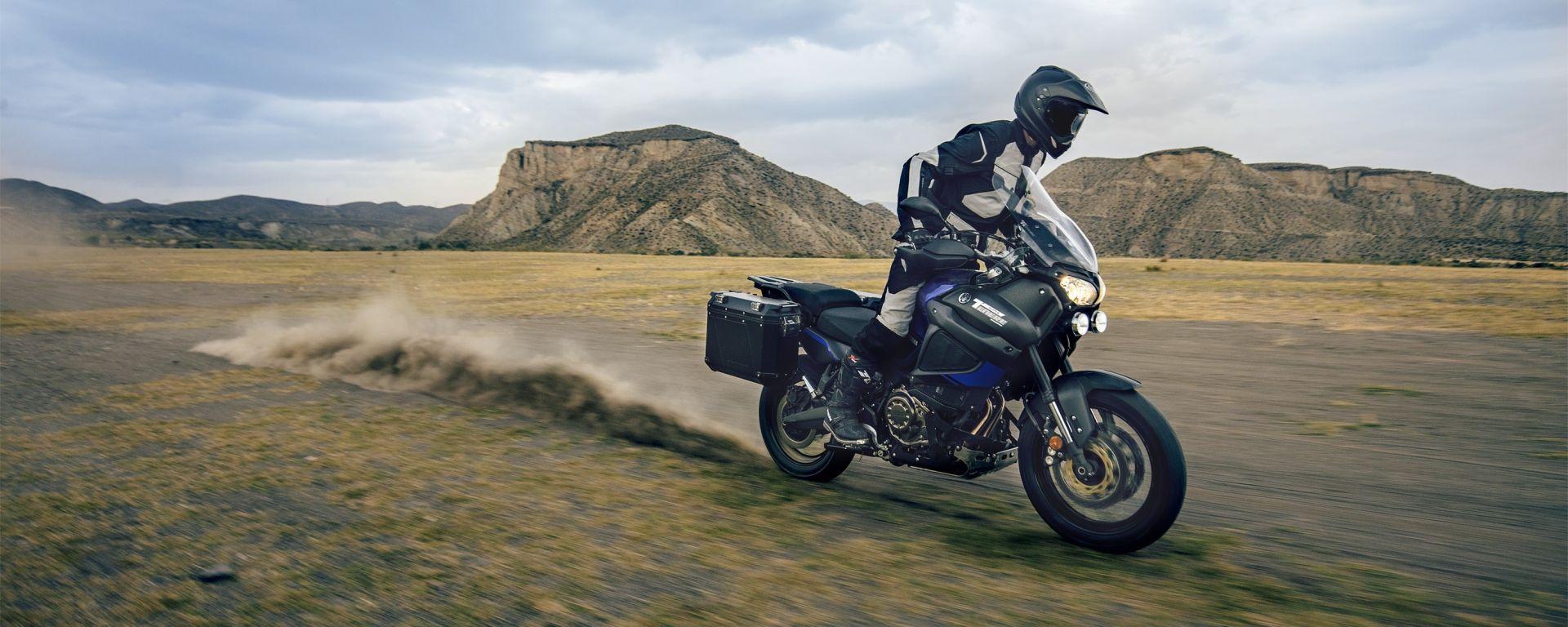 Yamaha XT1200ZE Super Ténéré Raid Edition pronta per EICMA