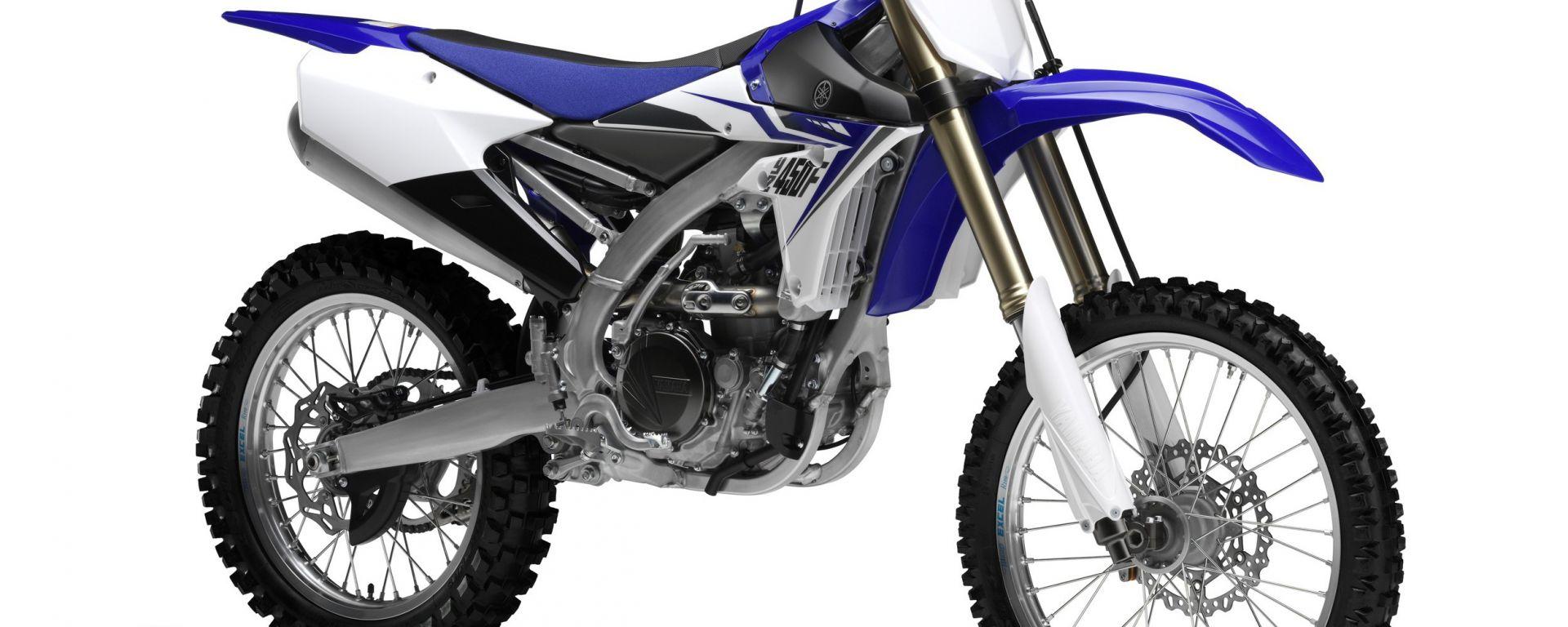 Yamaha YZ250F  e YZ450F 2014