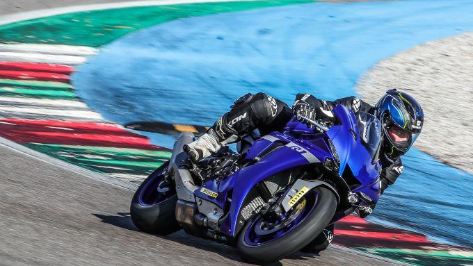Yamaha in azione