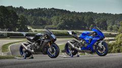 Yamaha YZF-R1 e R1M 2020, le due moto a confronto