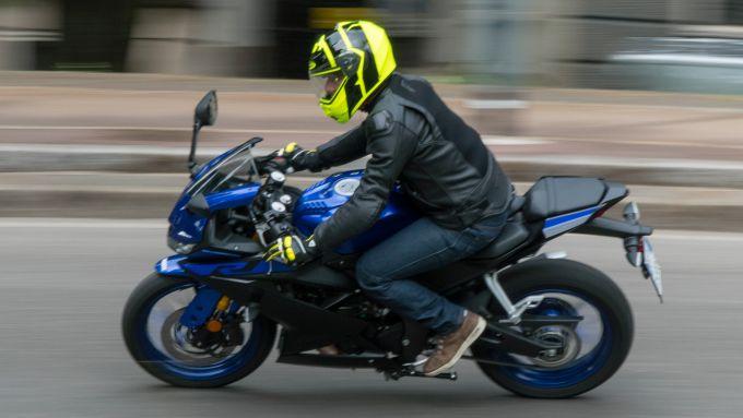 Yamaha YZF R125 test ride