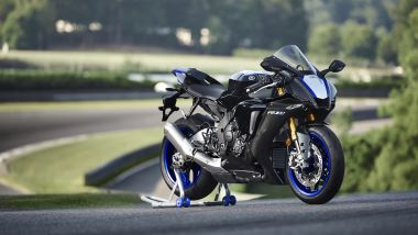 Yamaha YZF-R1M 2020: 3/4 anteriore