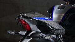 Yamaha YZF-R1M  2020, il codone in carbonio