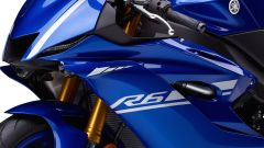 Yamaha YZF-R6 2017, scritta modello