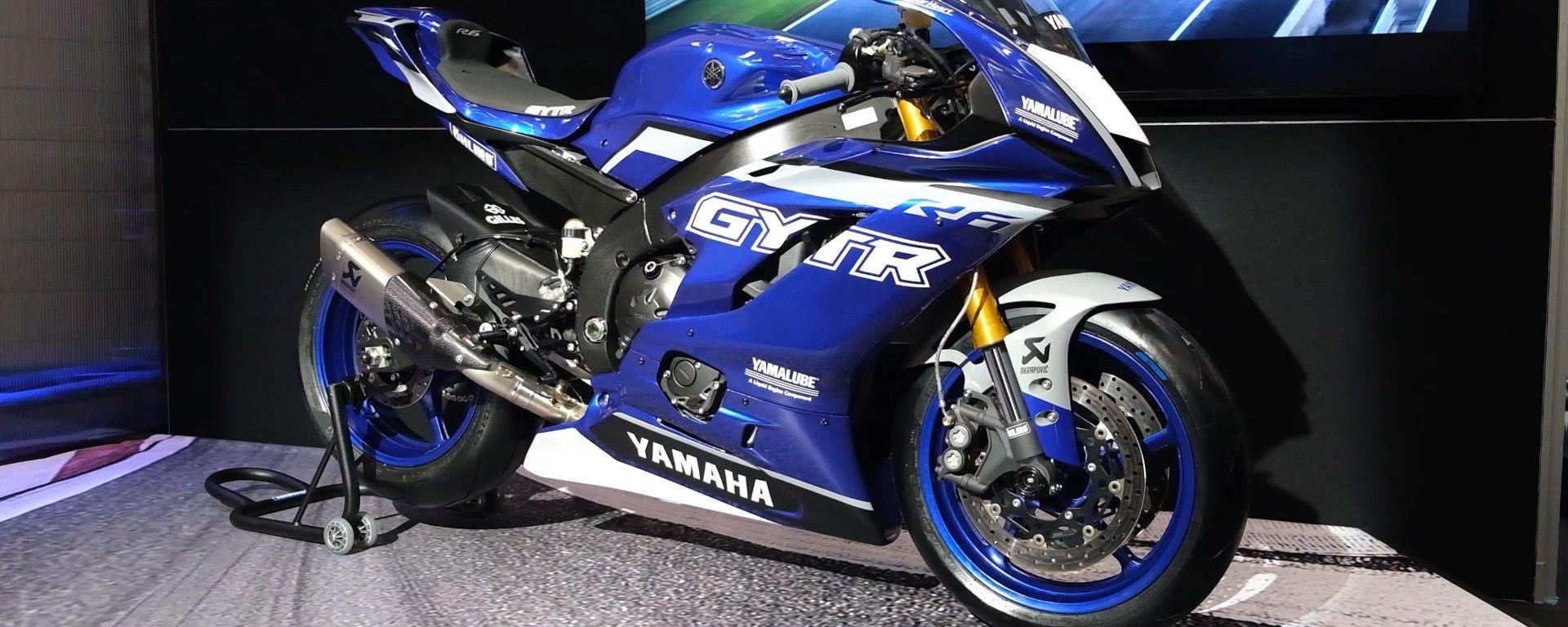 Yamaha YZF-R6 Race: dalla strada alla pista