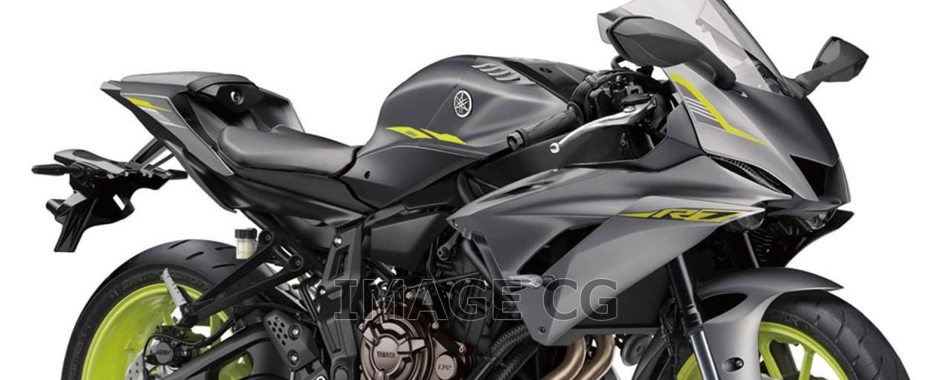 Yamaha YZF-R7: se la supersportiva su base MT-07 diventasse realtà?